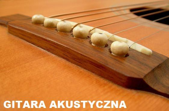 mostek w gitarze akustycznej