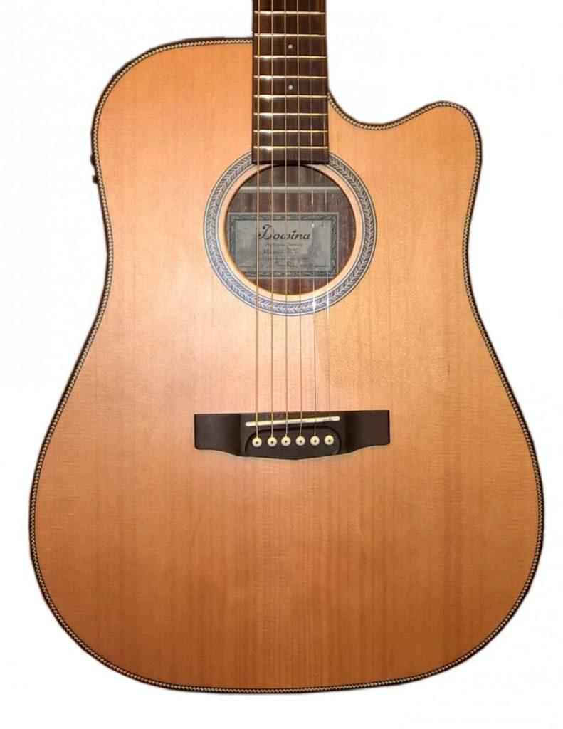 pudło rezonansowe w gitarze