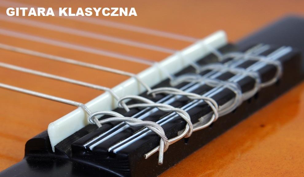 mostek w gitarze klasycznej