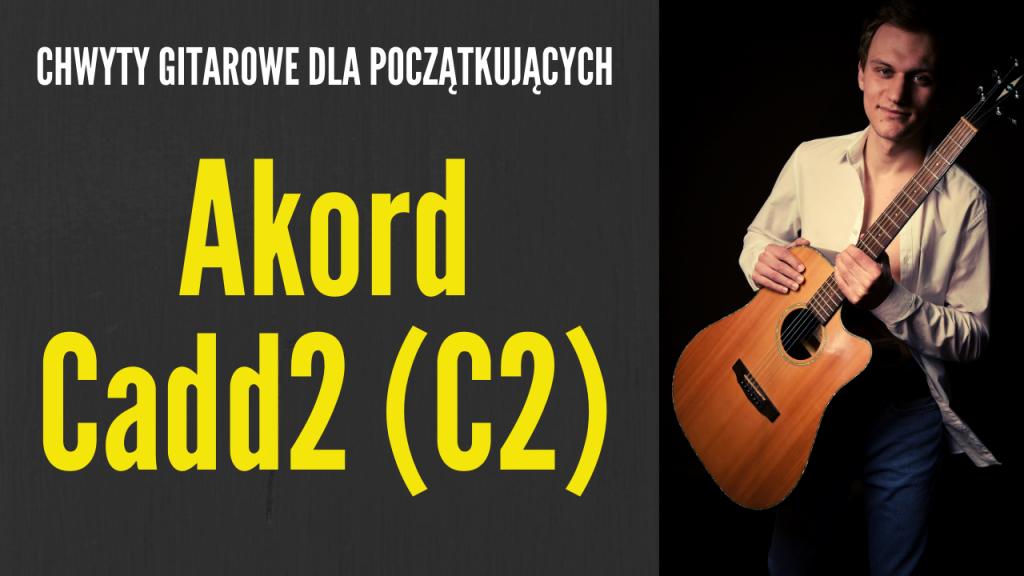 cadd2 gitara