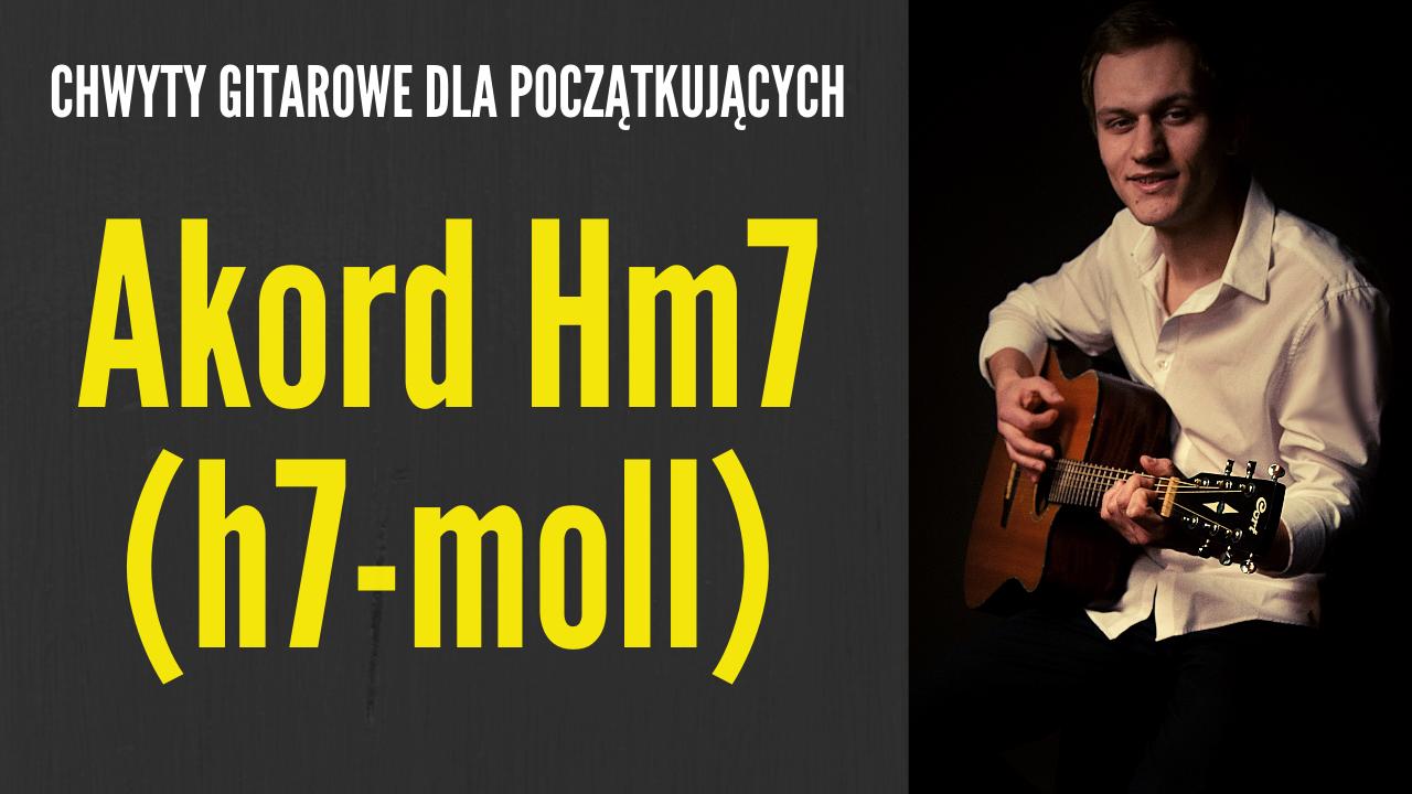 chwyt hm7 gitara